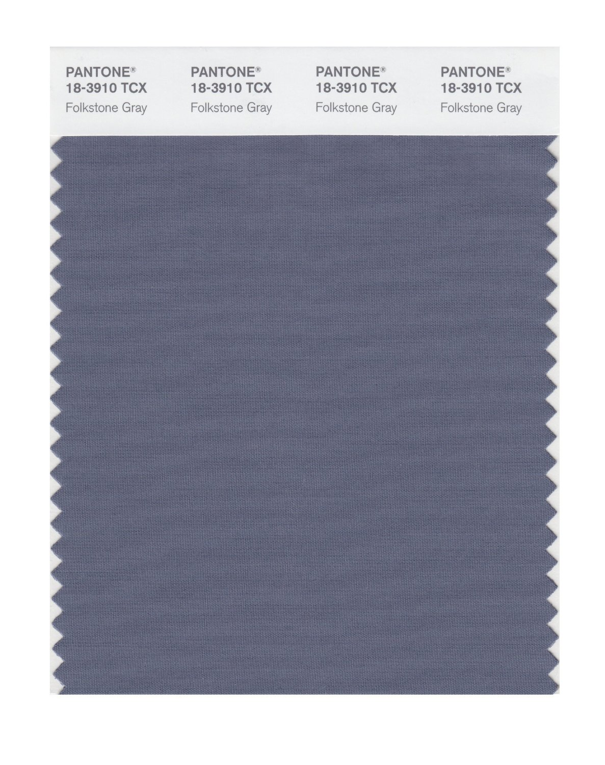 Pantone Smart Swatch 18-3910 Folkstone Gray