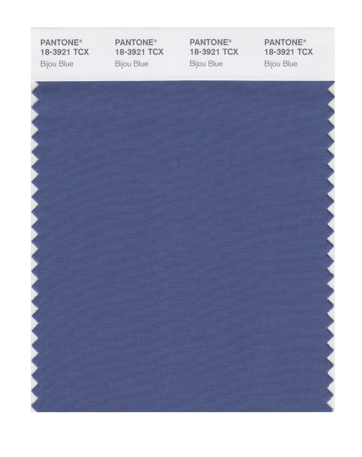 Pantone Smart Swatch 18-3921 Bijou Blue