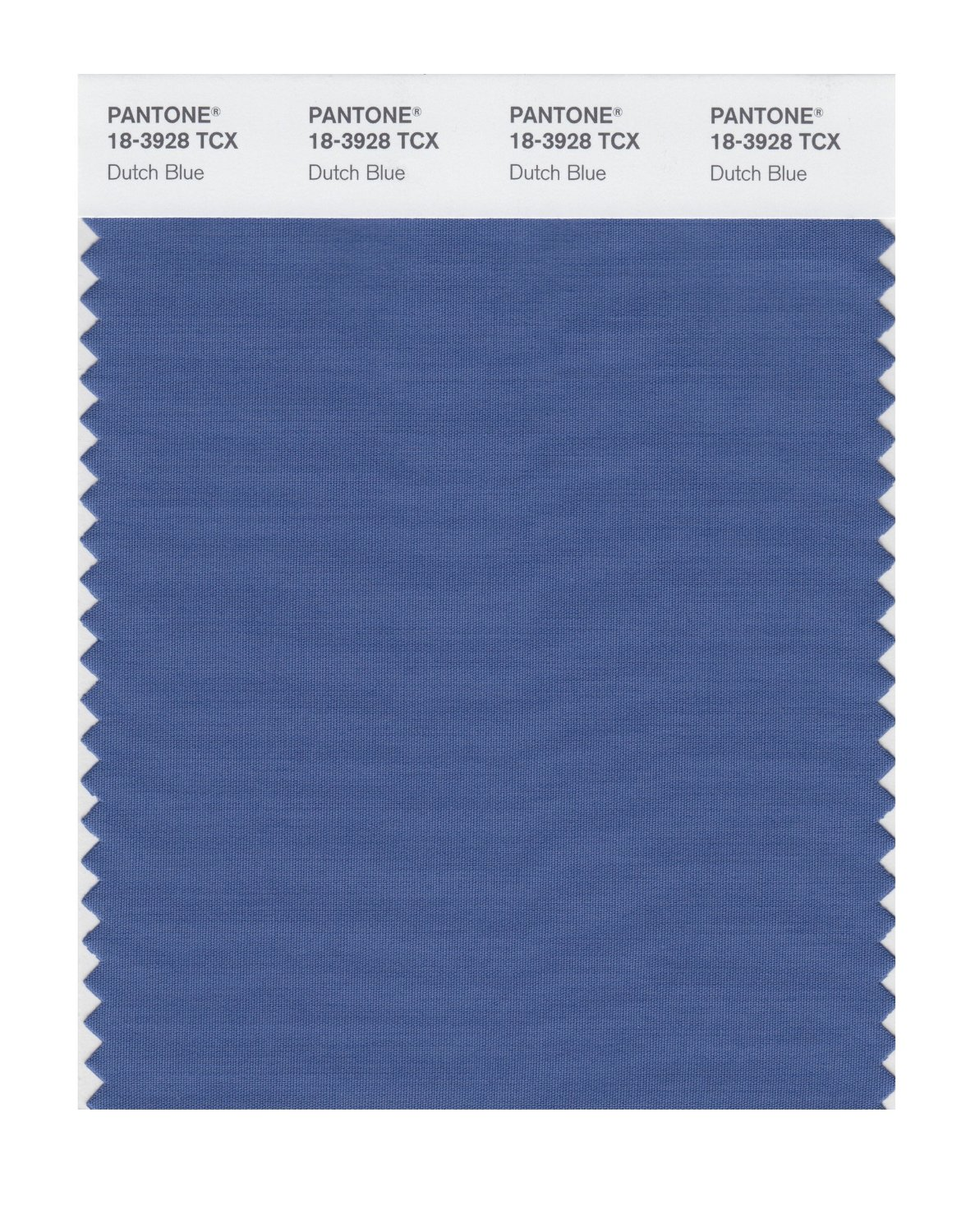 Pantone Smart Swatch 18-3928 Dutch Blue