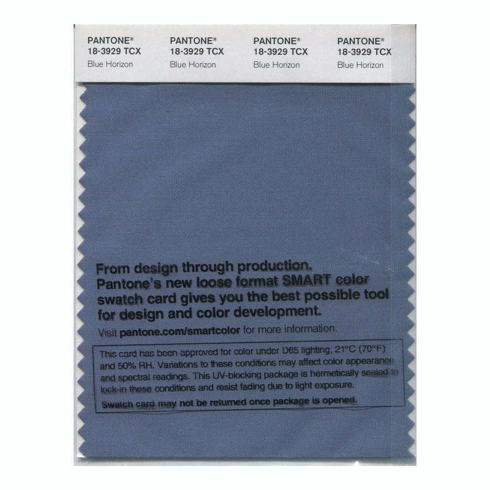 Pantone Smart Swatch 18-3929 Blue Horizon
