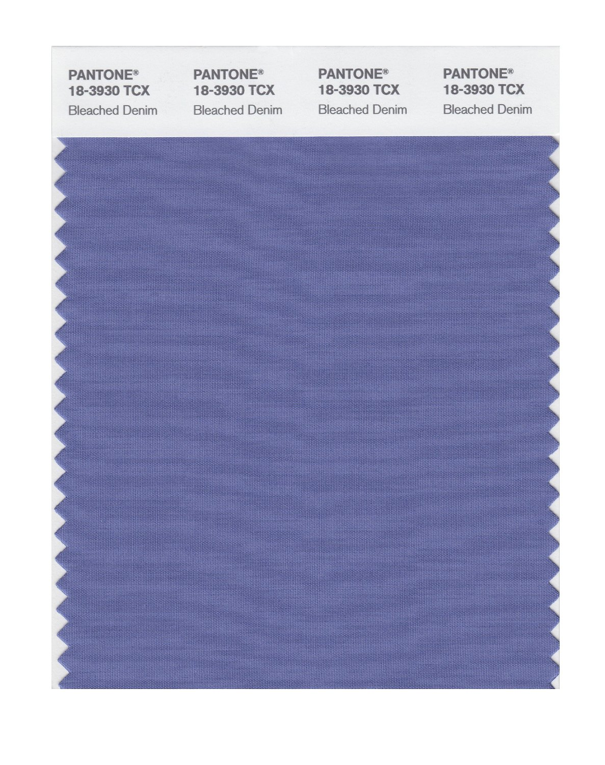 Pantone Smart Swatch 18-3930 Bleached Denim