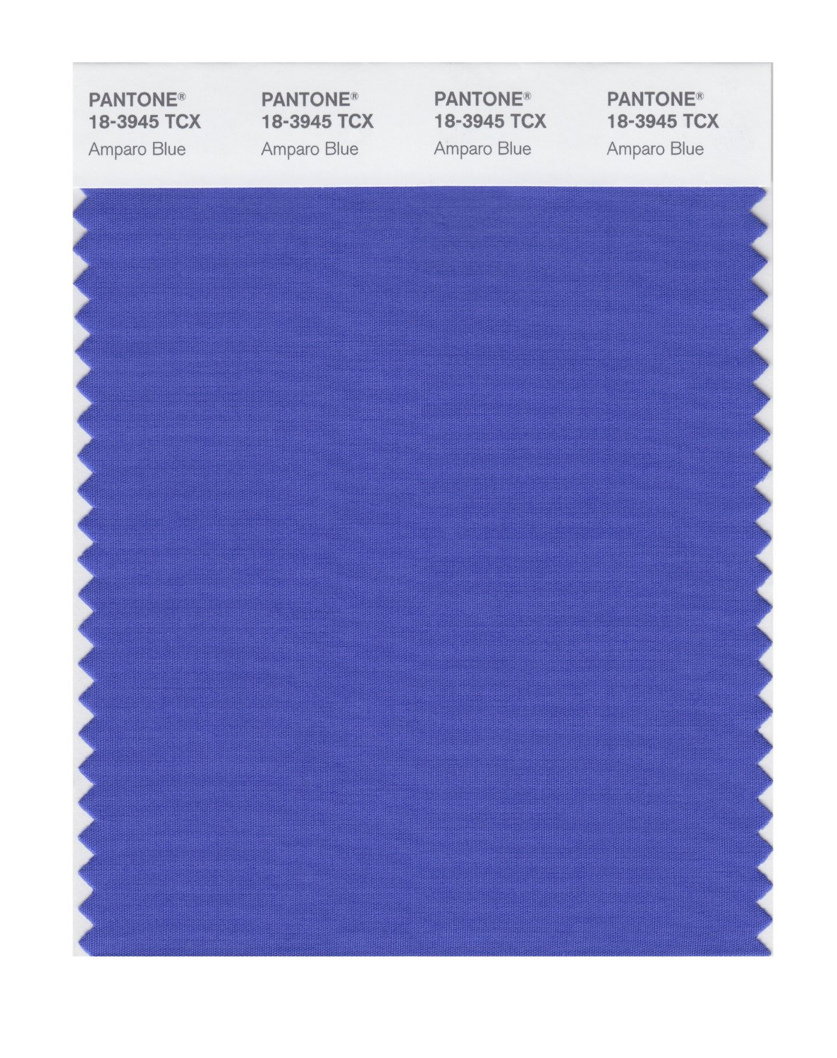 Pantone Smart Swatch 18-3945 Amparo Blue