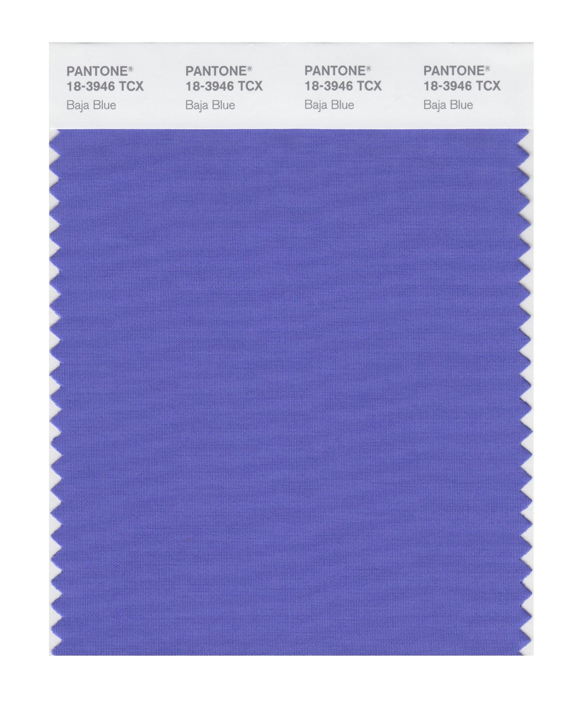 Pantone Smart Swatch 18-3946 Baja Blue