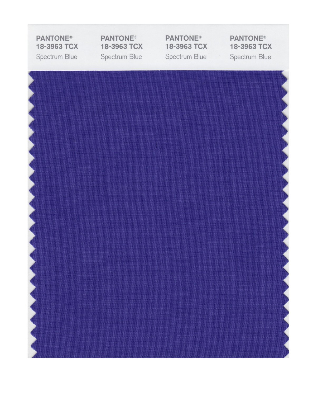 Pantone Smart Swatch 18-3963 Spectrum Blue