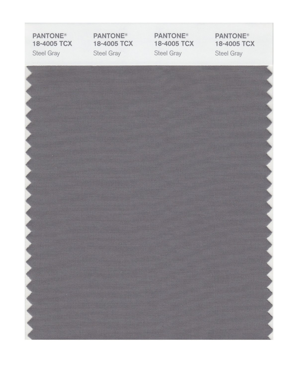 Pantone Smart Swatch 18-4005 Steel Gray