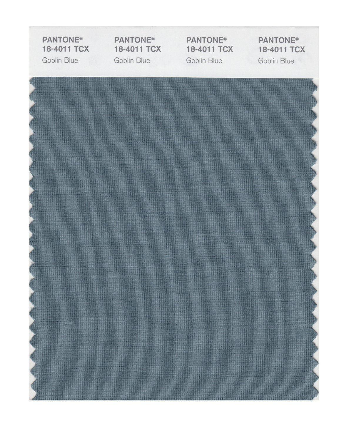 Pantone Smart Swatch 18-4011 Goblin Blue