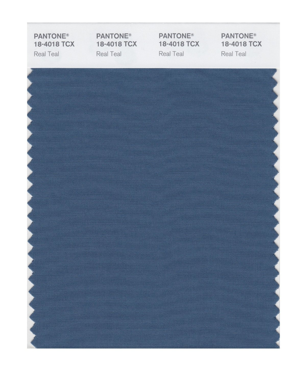 Pantone Smart Swatch 18-4018 Real Teal