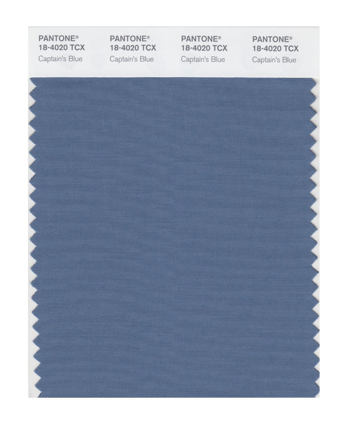 Pantone Smart Swatch 18-4020 Captains Blue