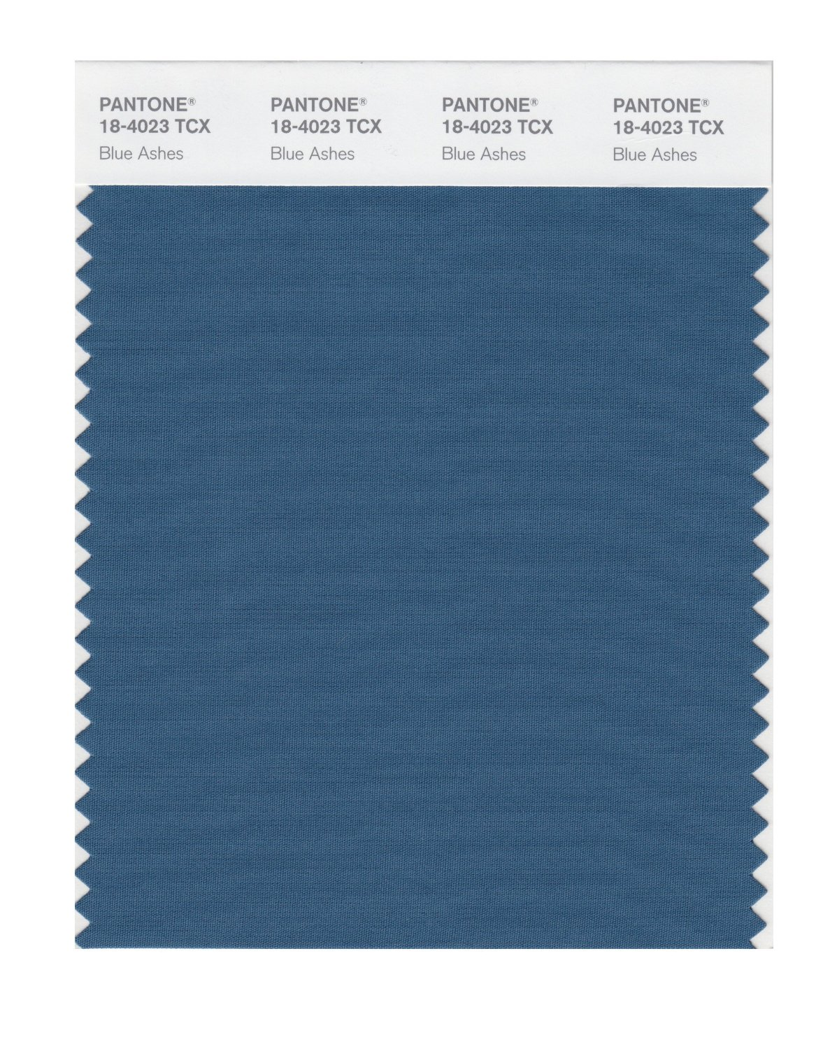 Pantone Smart Swatch 18-4023 Blue Ashes