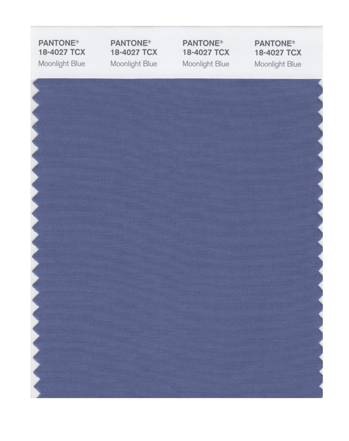 Pantone Smart Swatch 18-4027 Moonlight Blue