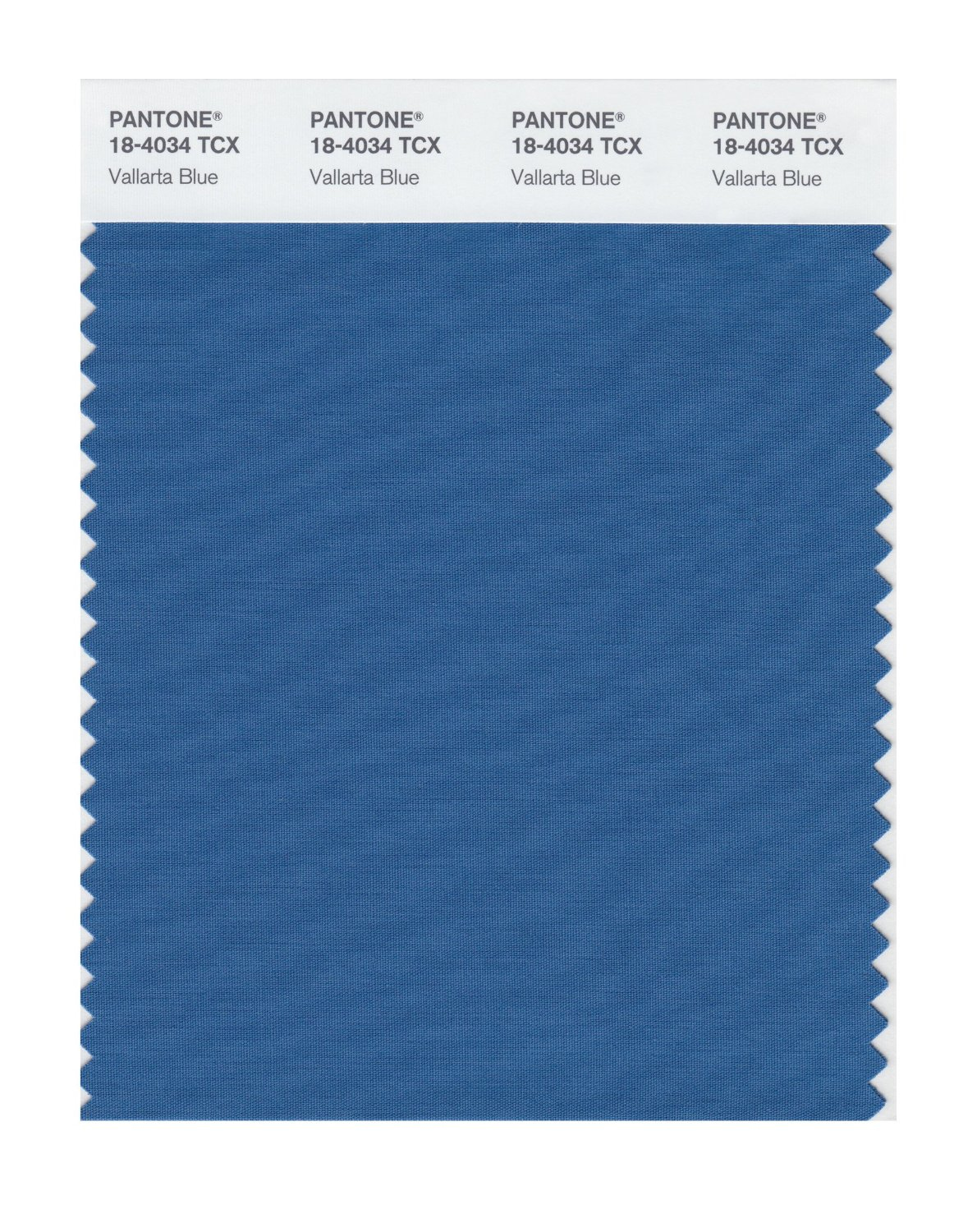 Pantone Smart Swatch 18-4034 Vallarta Blue