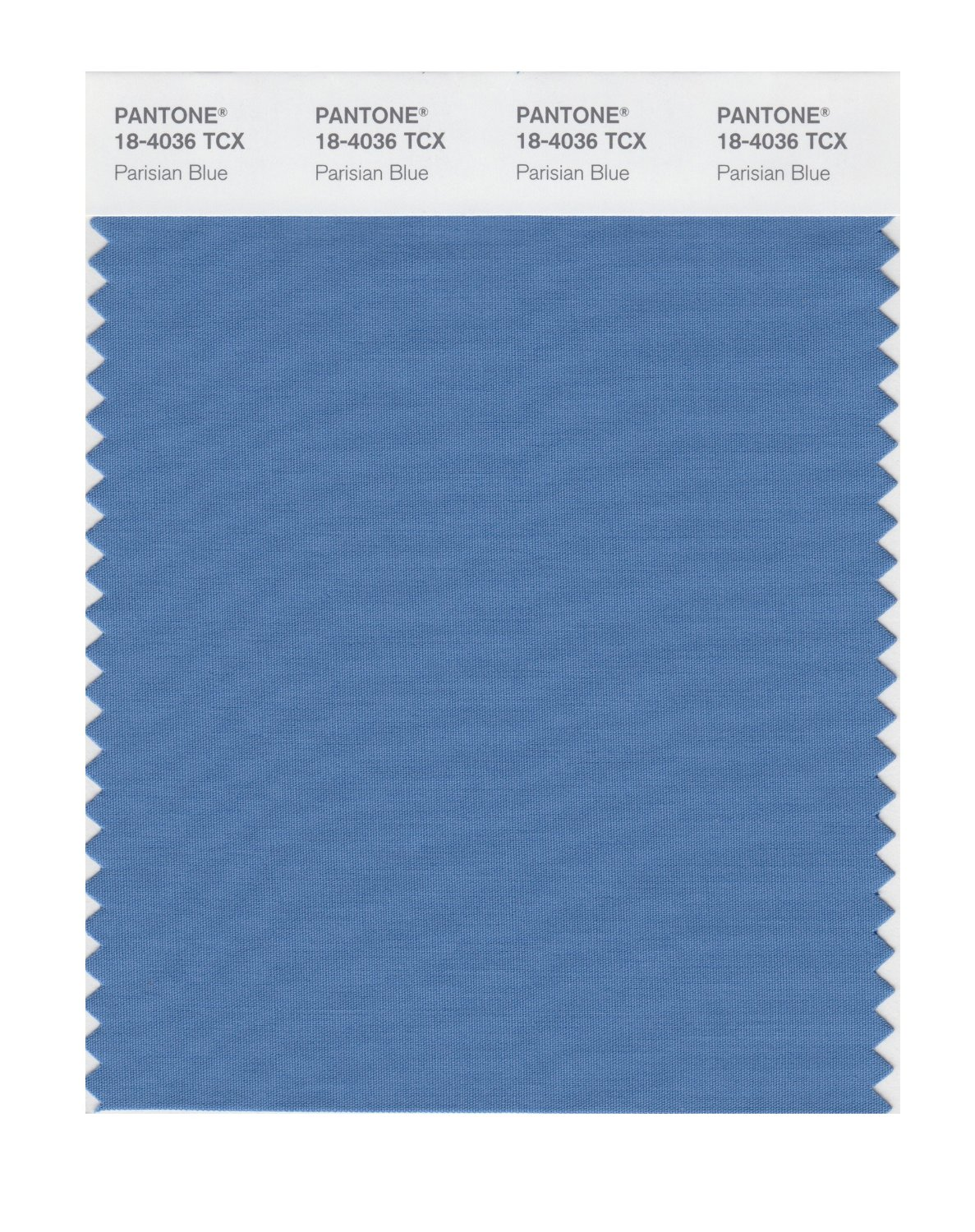 Pantone Smart Swatch 18-4036 Parisian Blue