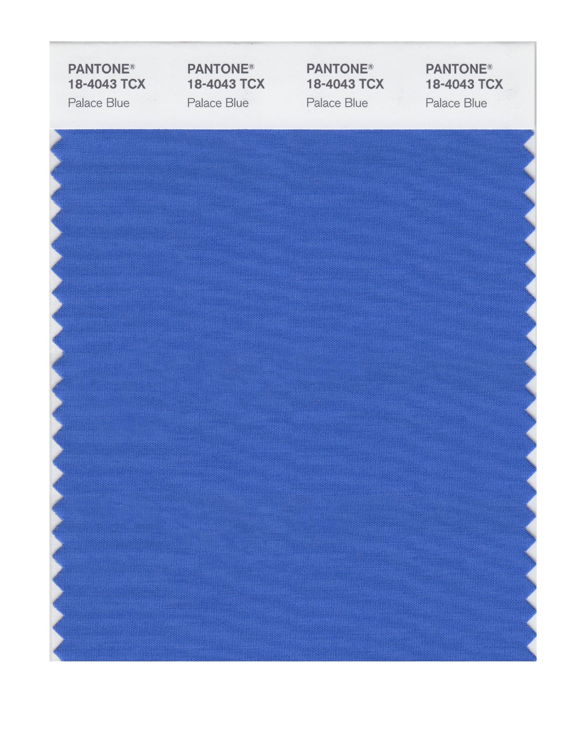Pantone Smart Swatch 18-4043 Palace Blue