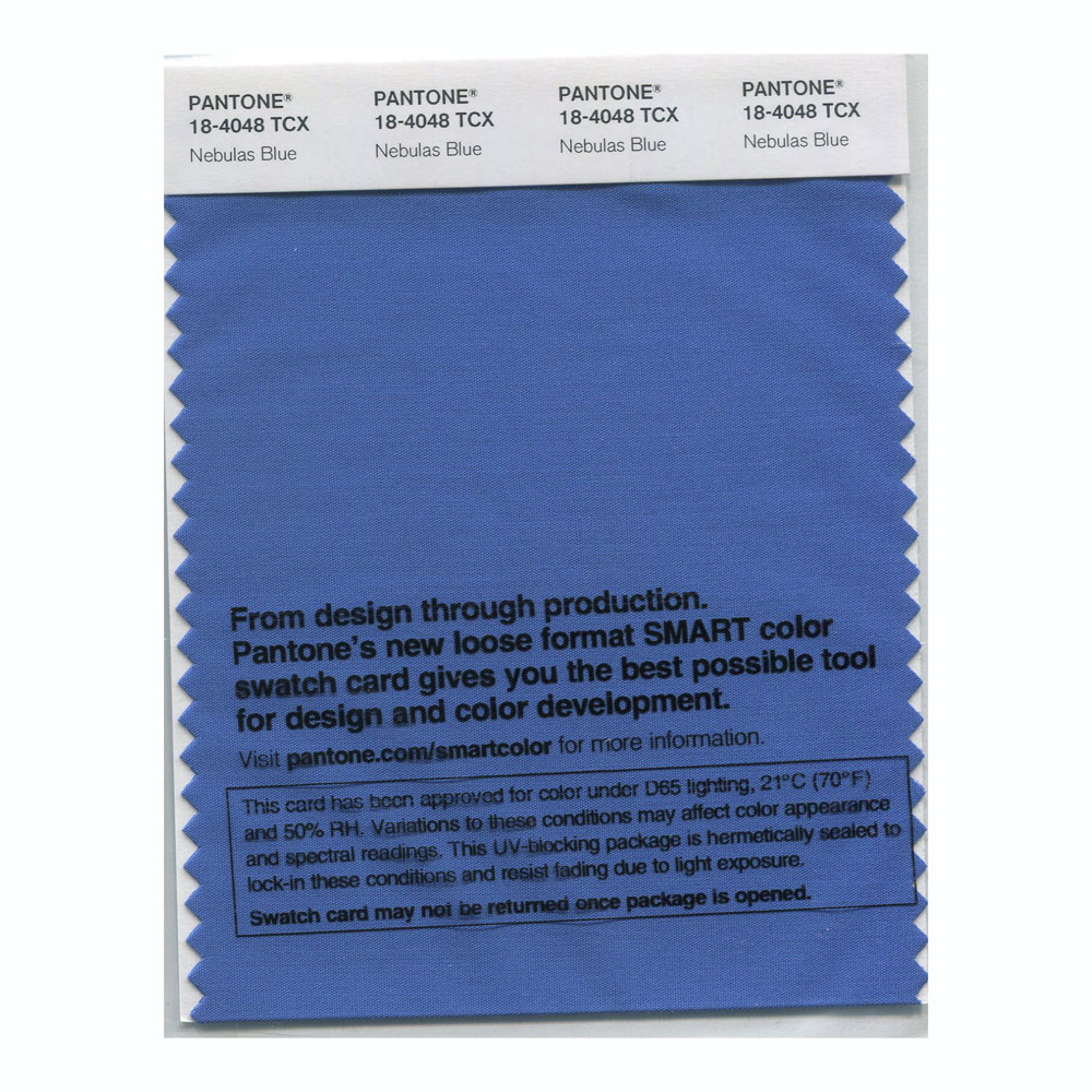 Pantone Smart Swatch 18-4048 Nebulas Blue