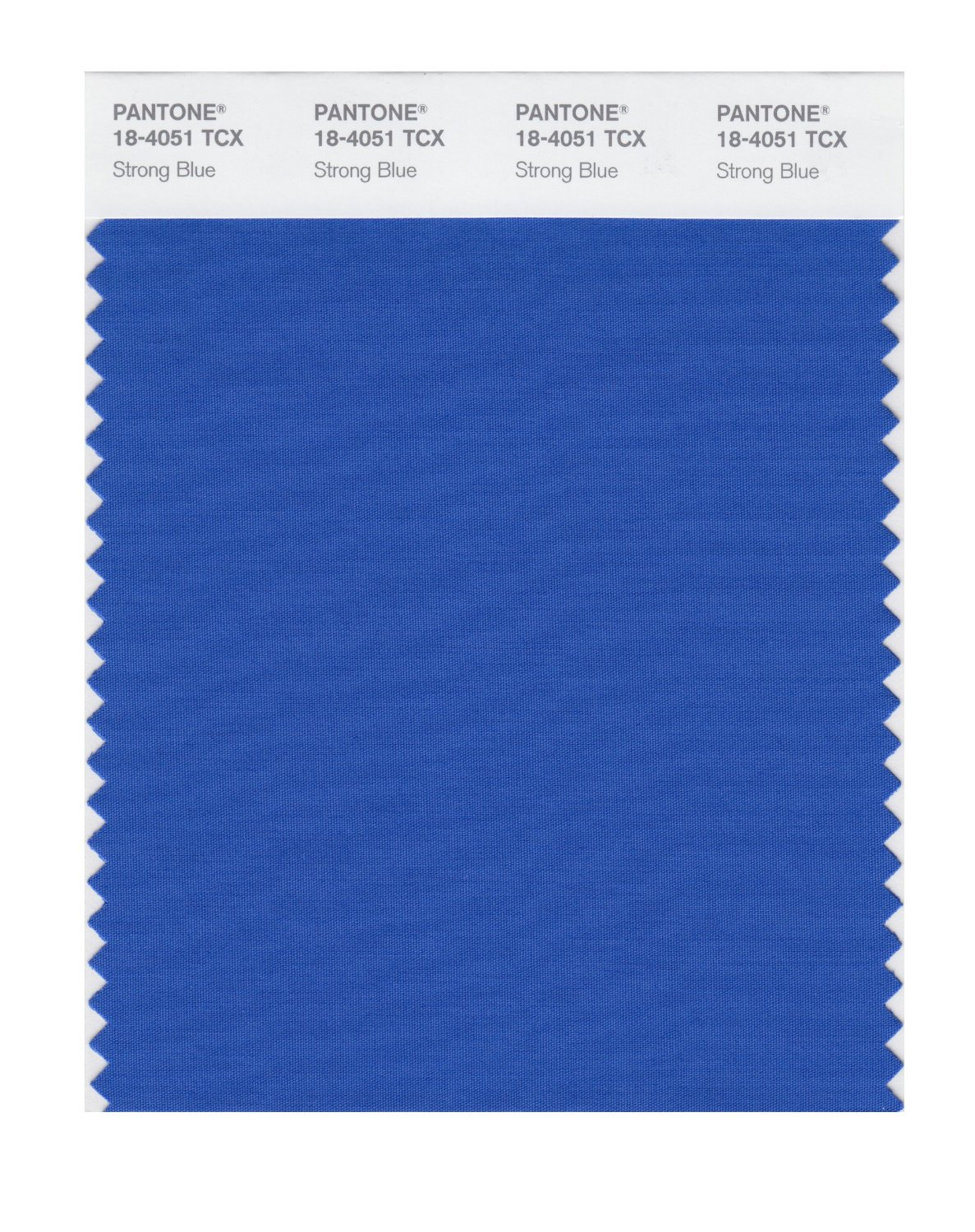 Pantone Smart Swatch 18-4051 Strong Blue
