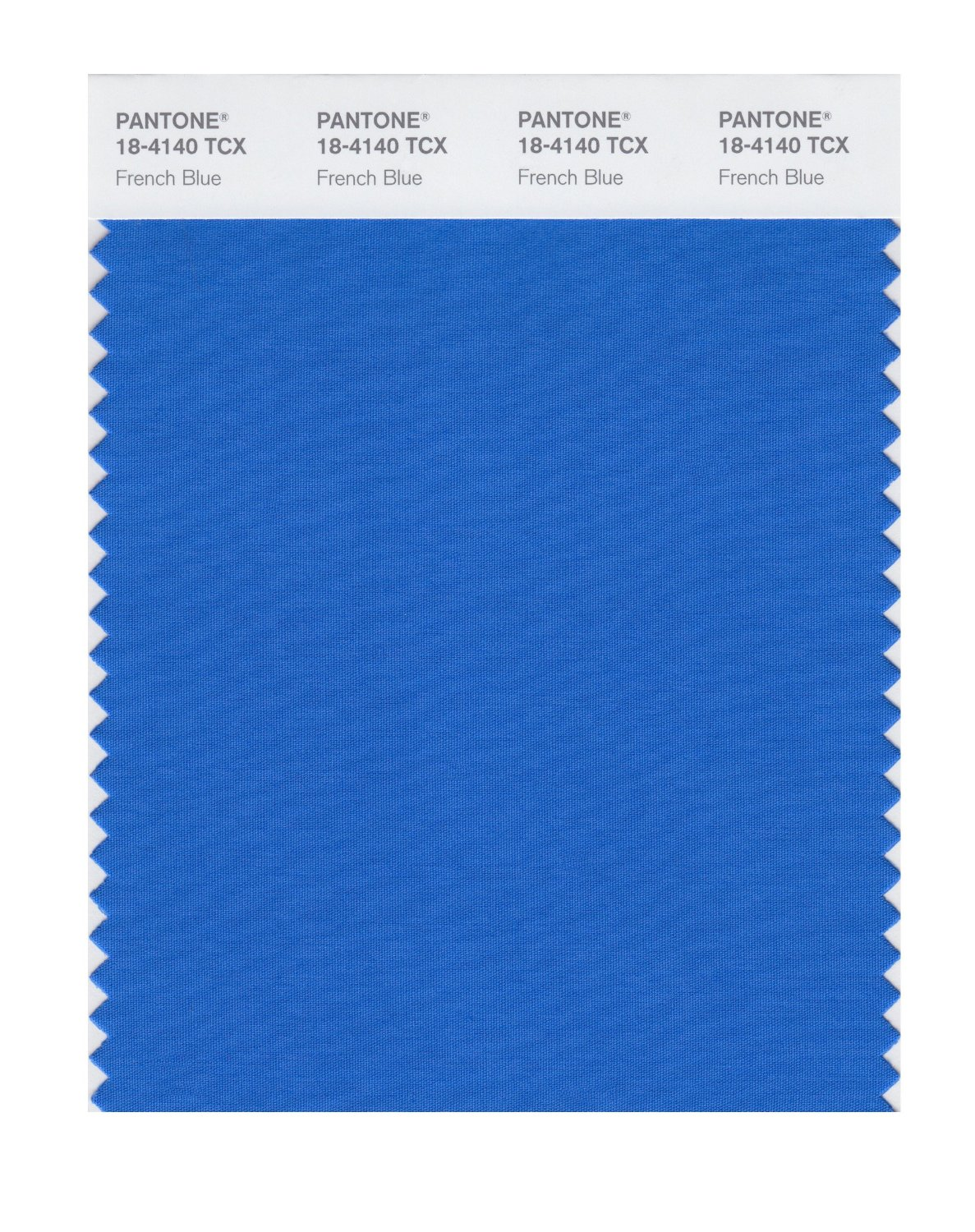 Pantone Smart Swatch 18-4140 French Blue