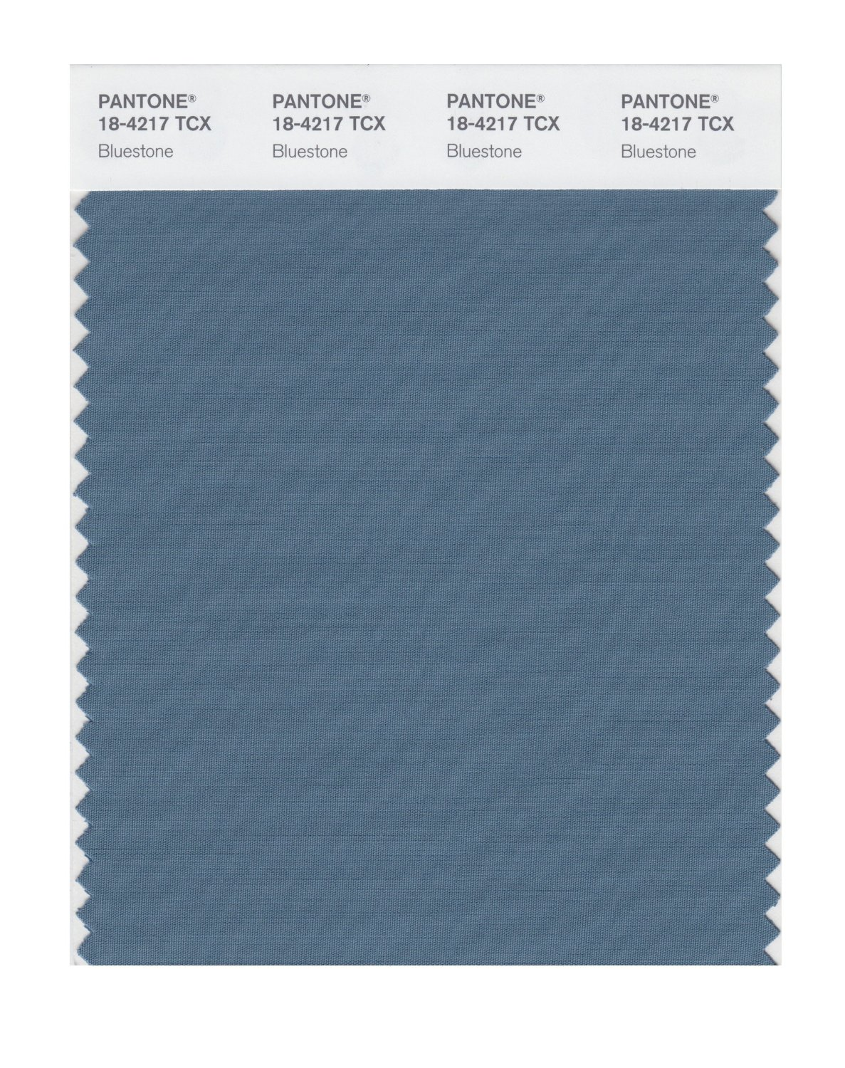 Pantone Smart Swatch 18-4217 Bluestone