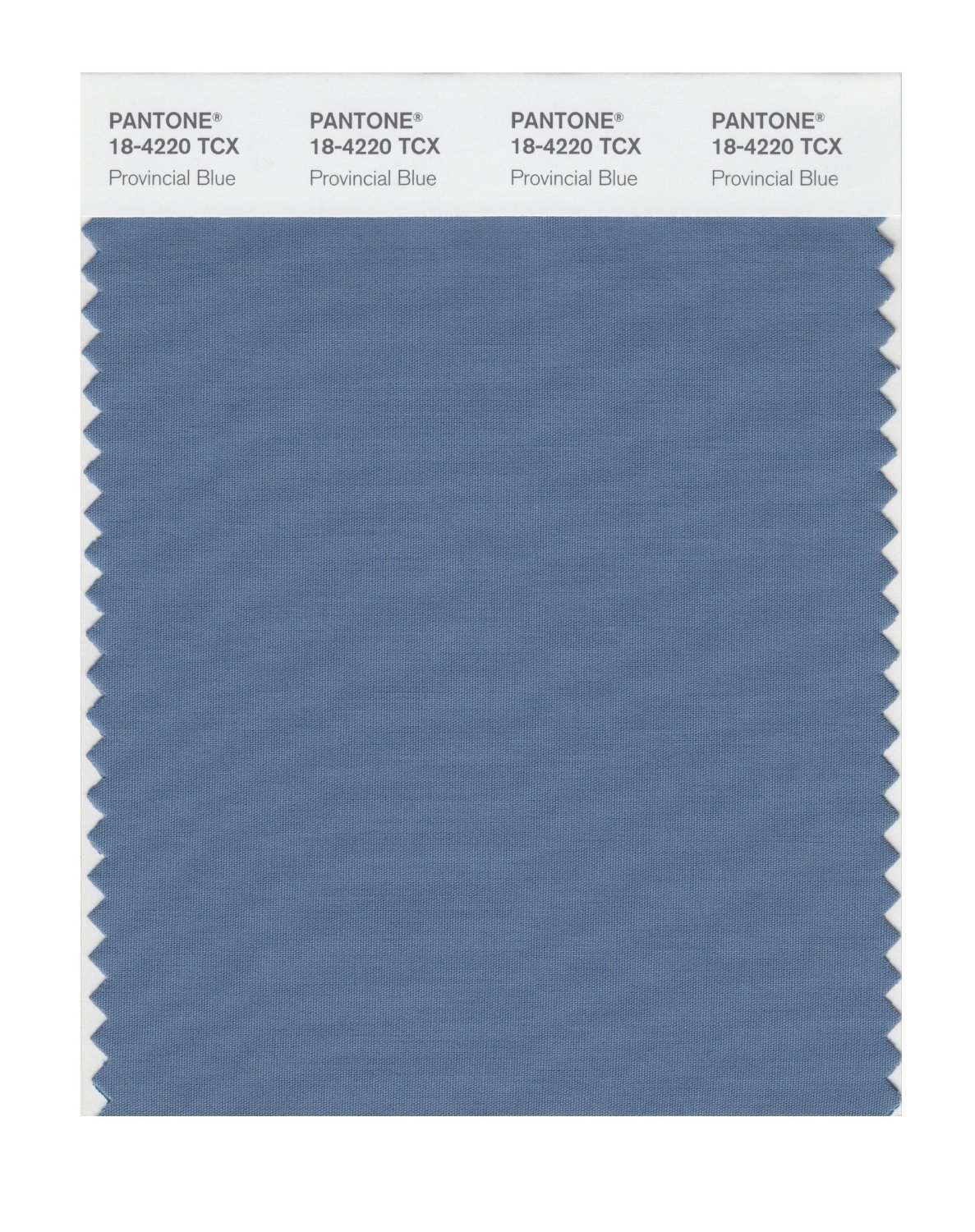 Pantone Smart Swatch 18-4220 Provincial Blue