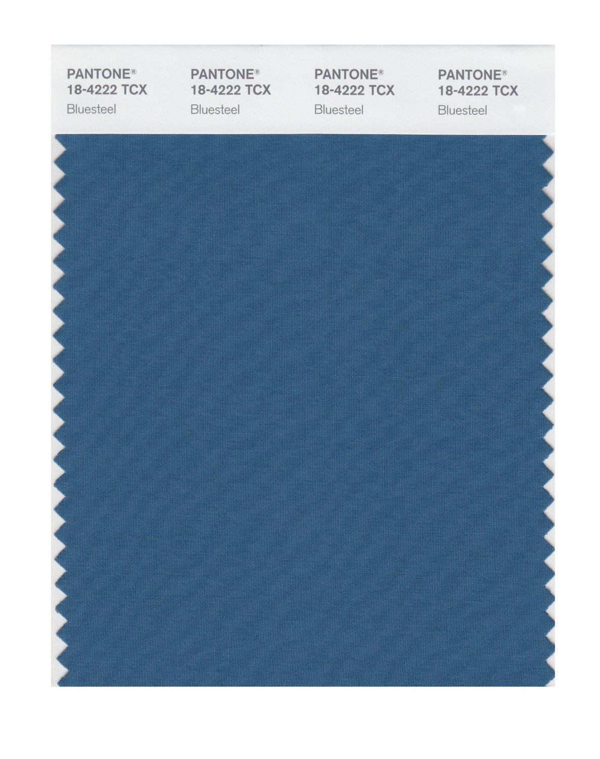 Pantone Smart Swatch 18-4222 Bluesteel