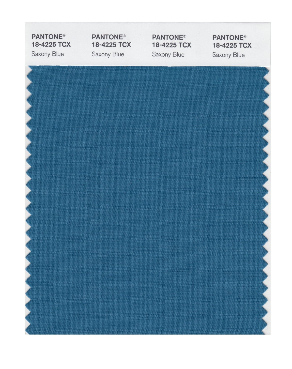 Pantone Smart Swatch 18-4225 Saxony Blue