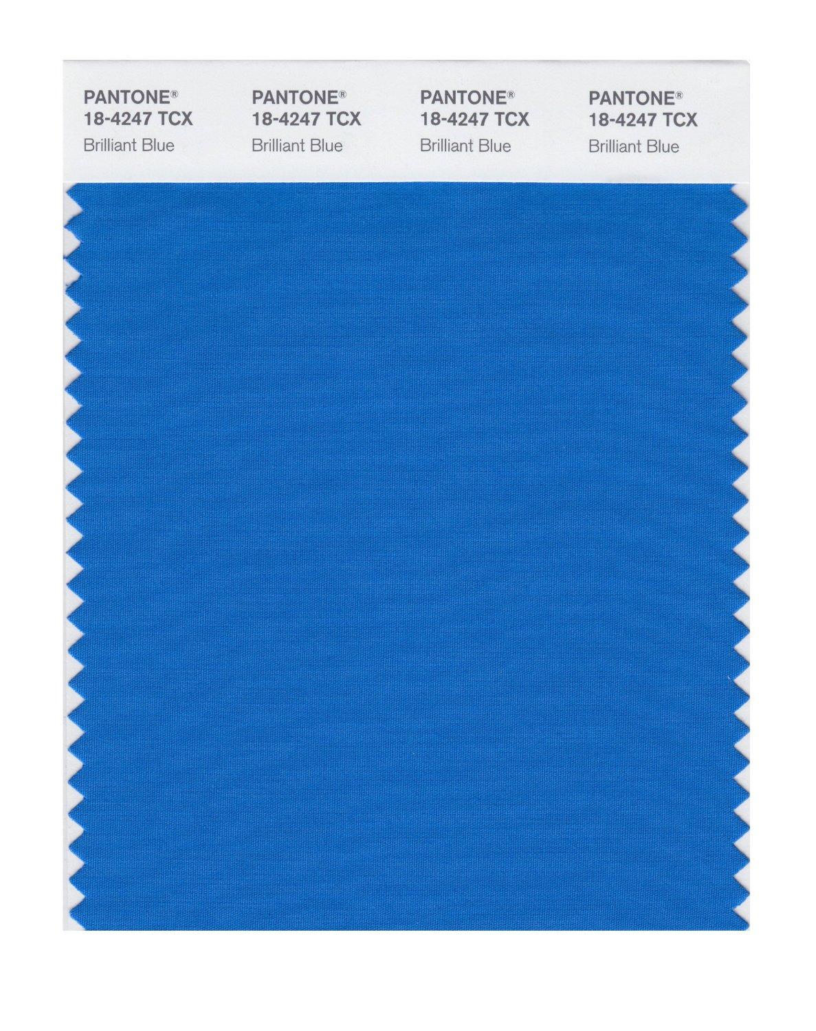Pantone Smart Swatch 18-4247 Brilliant Blue