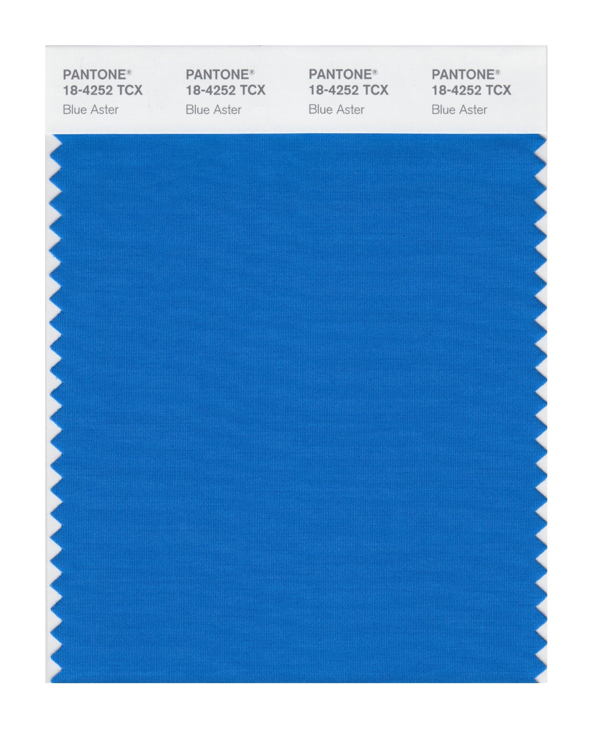 Pantone Smart Swatch 18-4252 Blue Aster