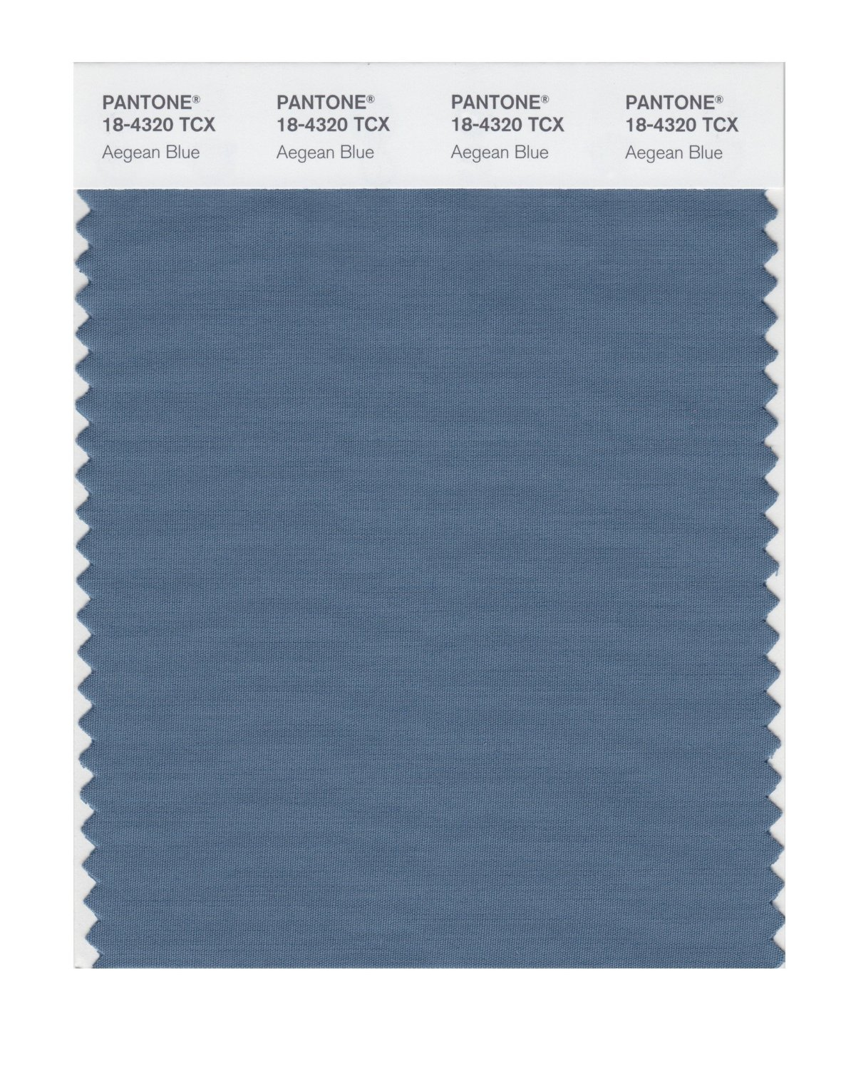 Pantone Smart Swatch 18-4320 Agean Blue