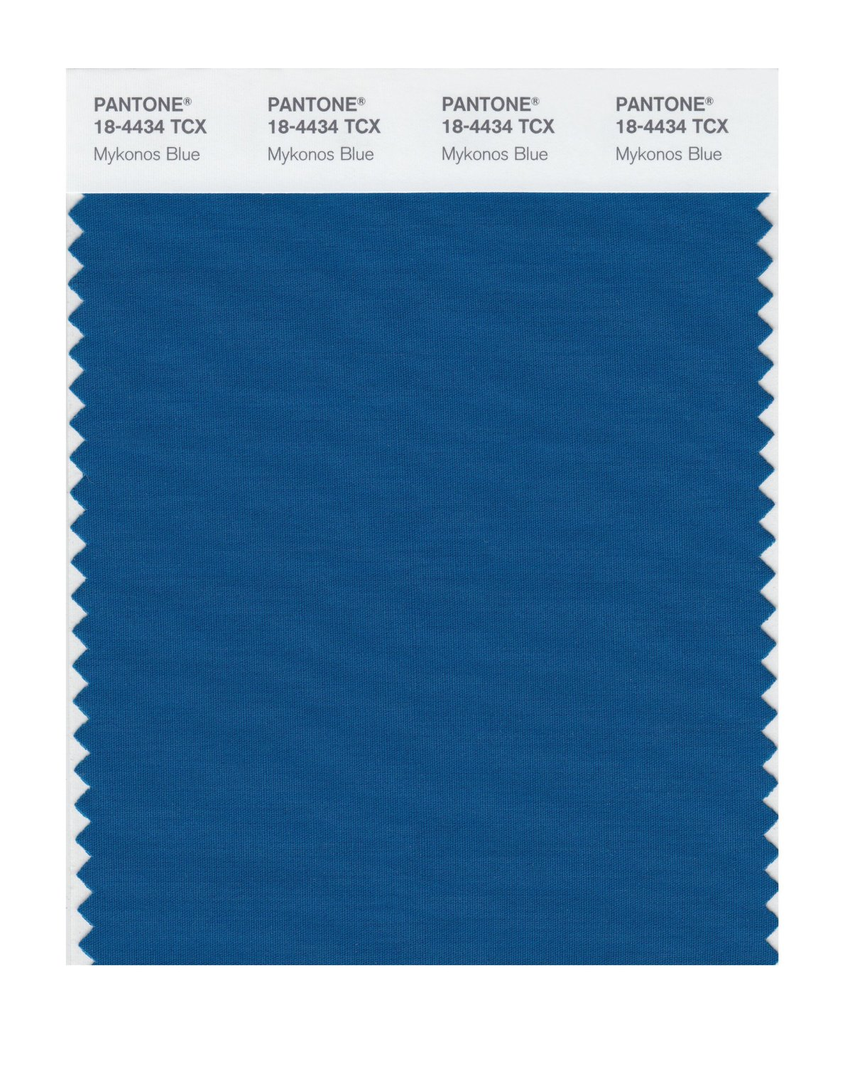 Pantone Smart Swatch 18-4434 Mykonos Blue