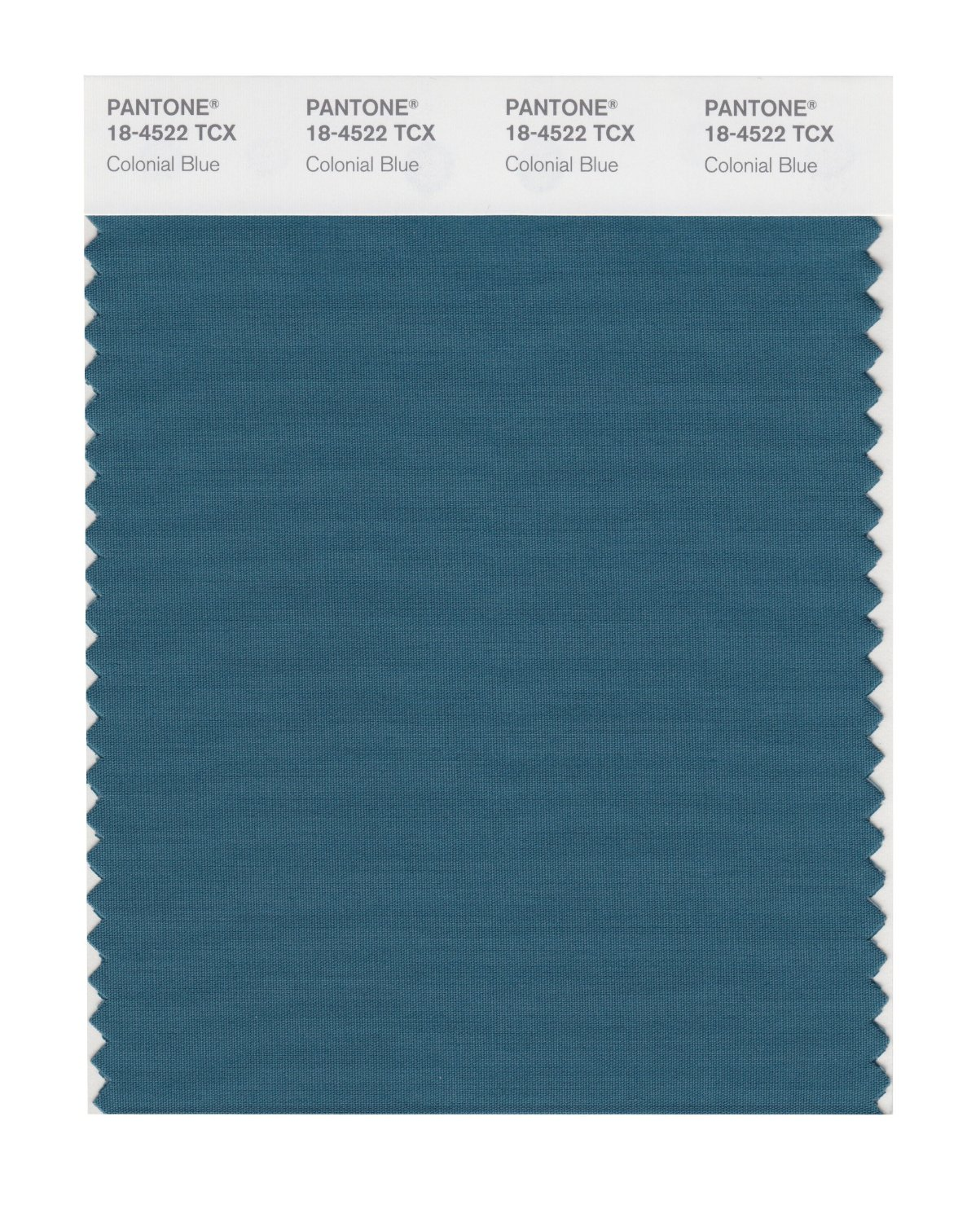 Pantone Smart Swatch 18-4522 Colonial Blue