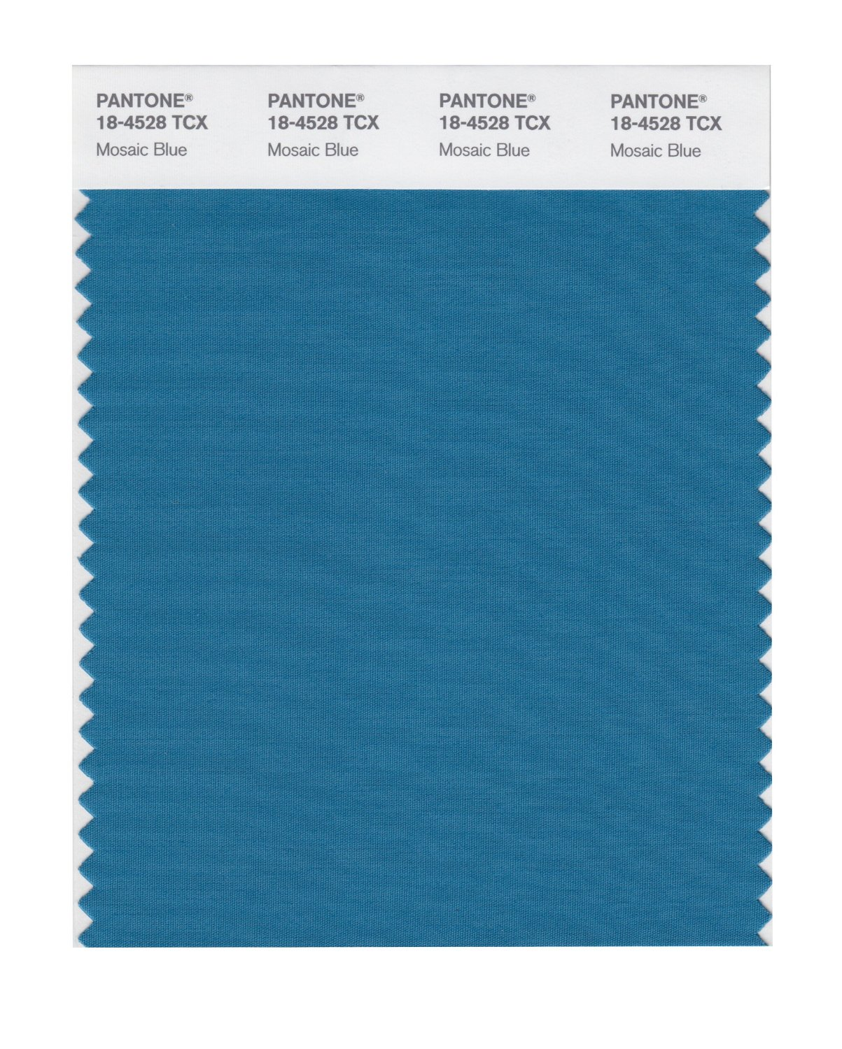 Pantone Smart Swatch 18-4528 Mosaic Blue
