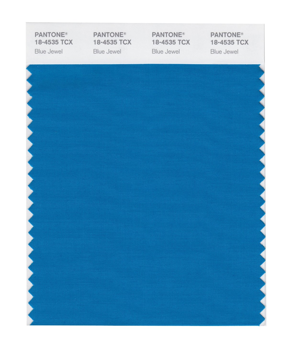 Pantone Smart Swatch 18-4535 Blue Jewel