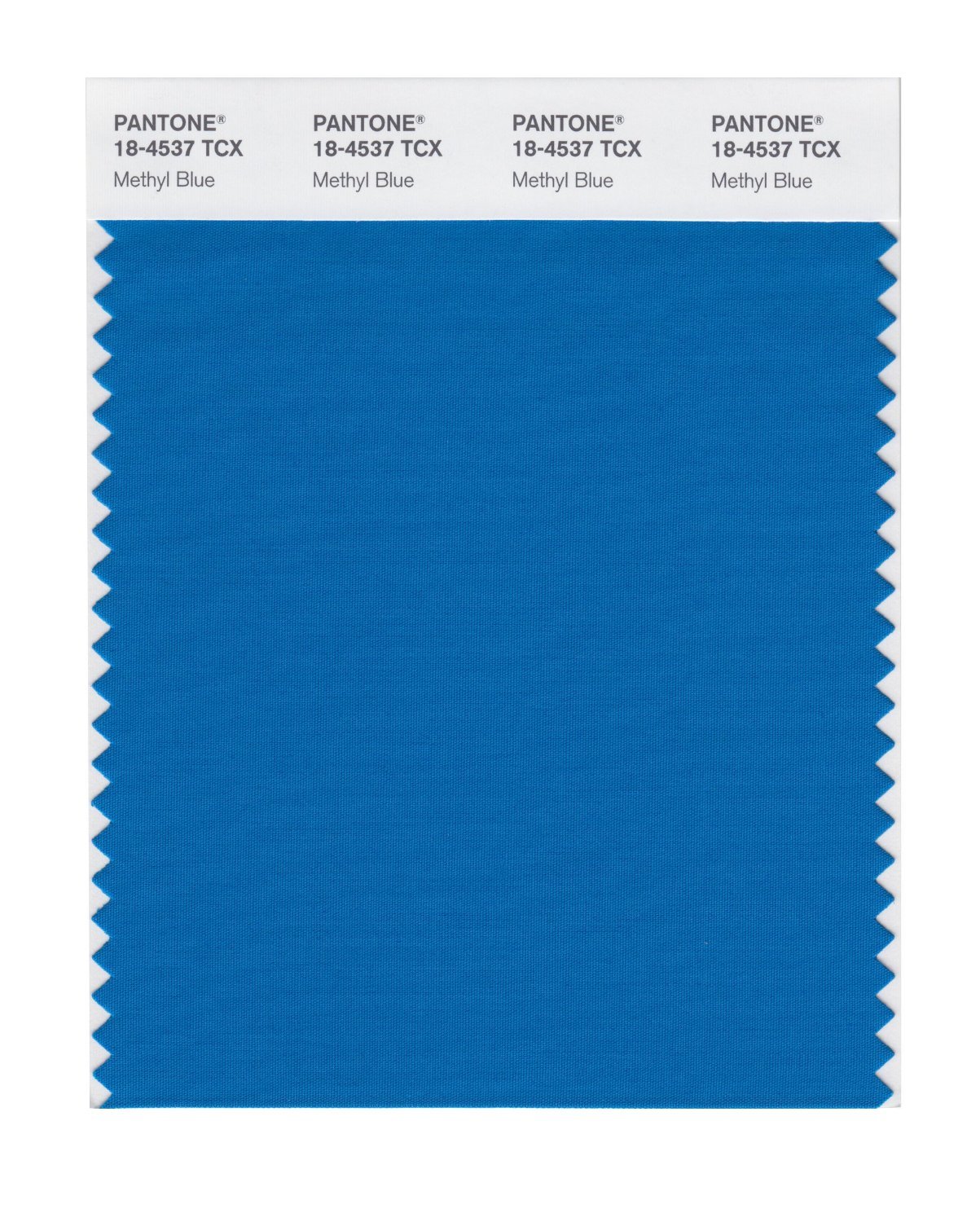 Pantone Smart Swatch 18-4537 Methyl Blue
