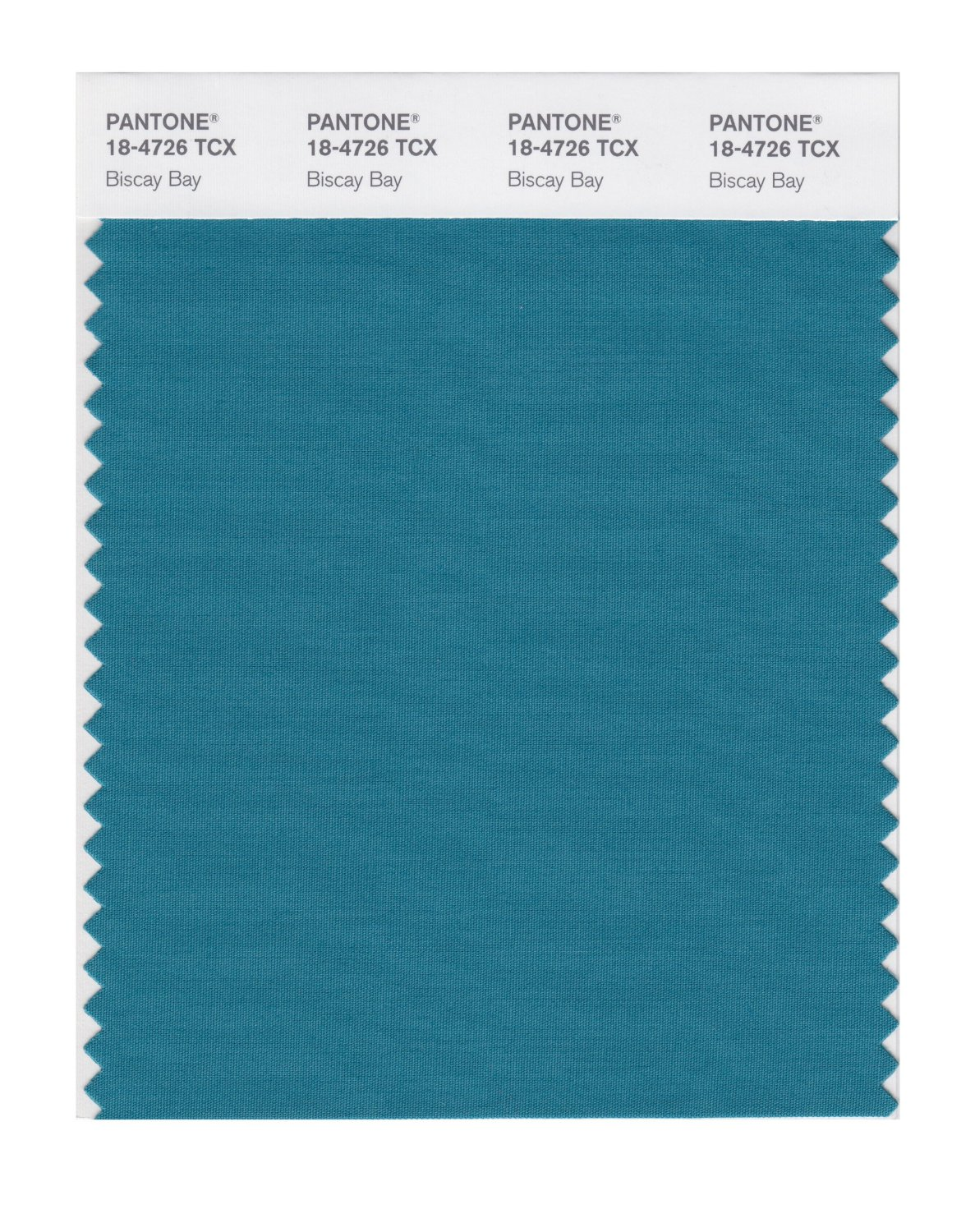 Pantone Smart Swatch 18-4726 Biscay Bay