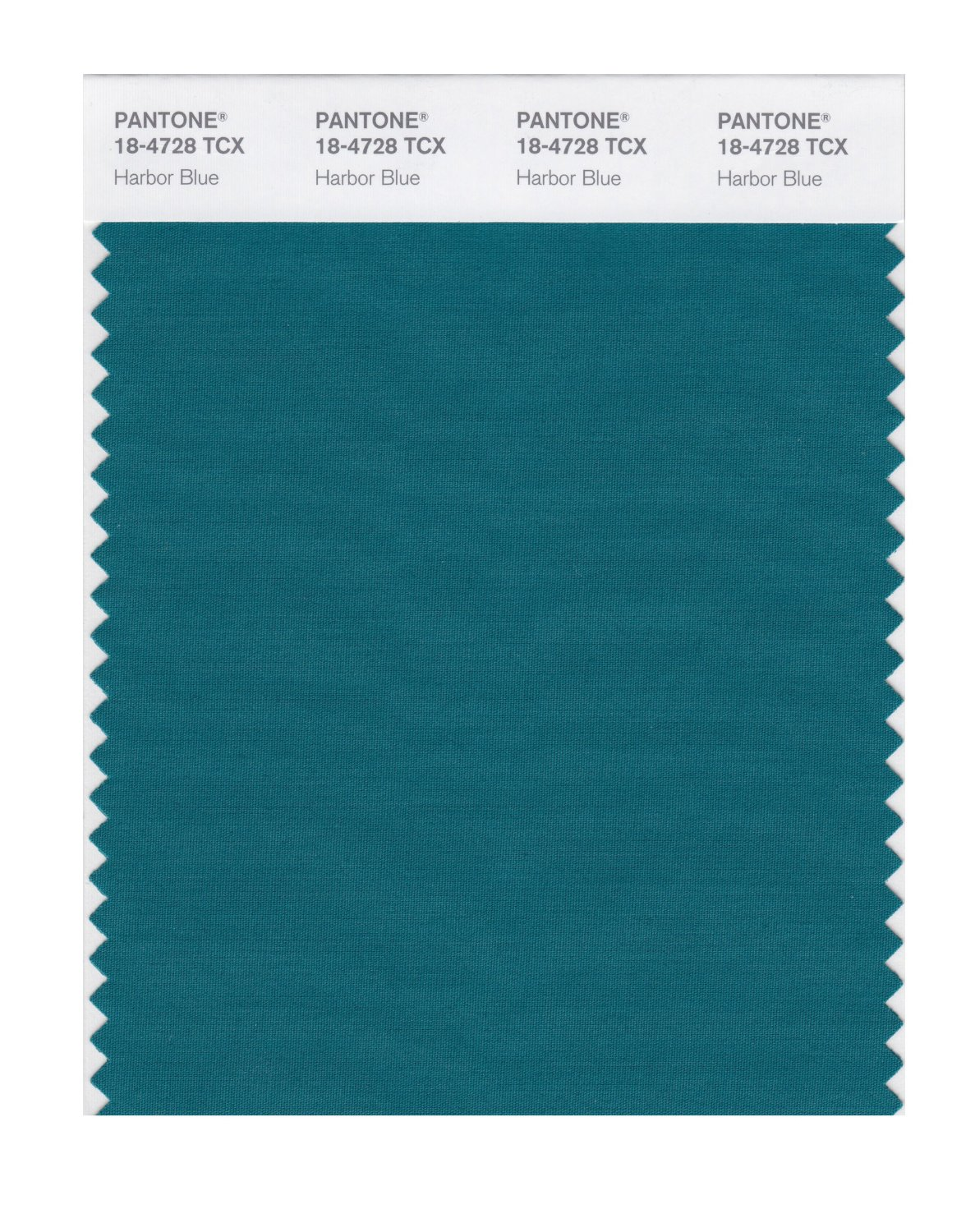 Pantone Smart Swatch 18-4728 Harbor Blue