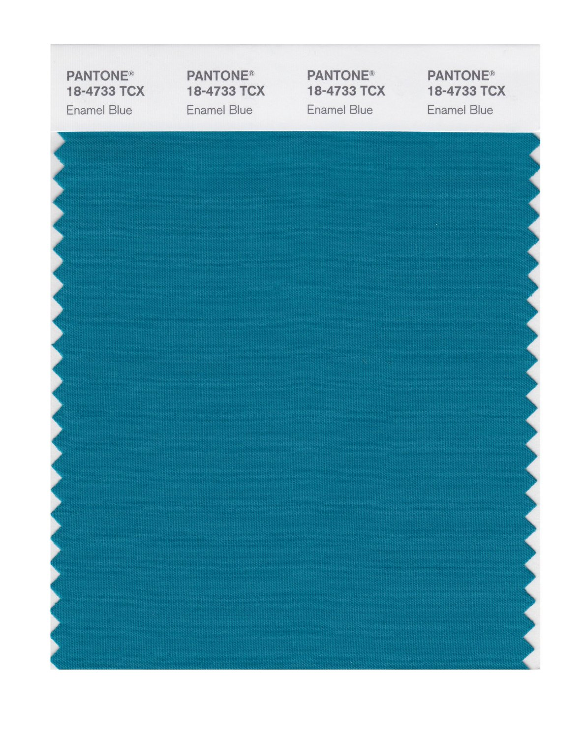 Pantone Smart Swatch 18-4733 Enamel Blue