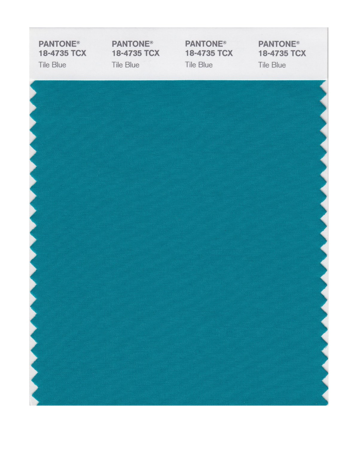 Pantone Smart Swatch 18-4735 Tile Blue