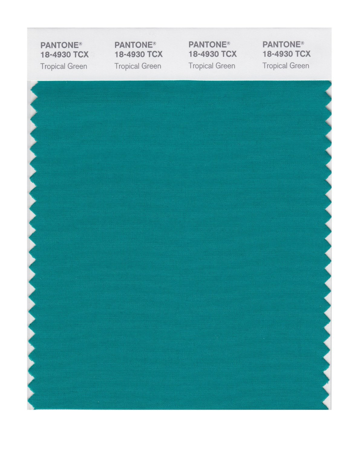 Pantone Smart Swatch 18-4930 Tropical Green