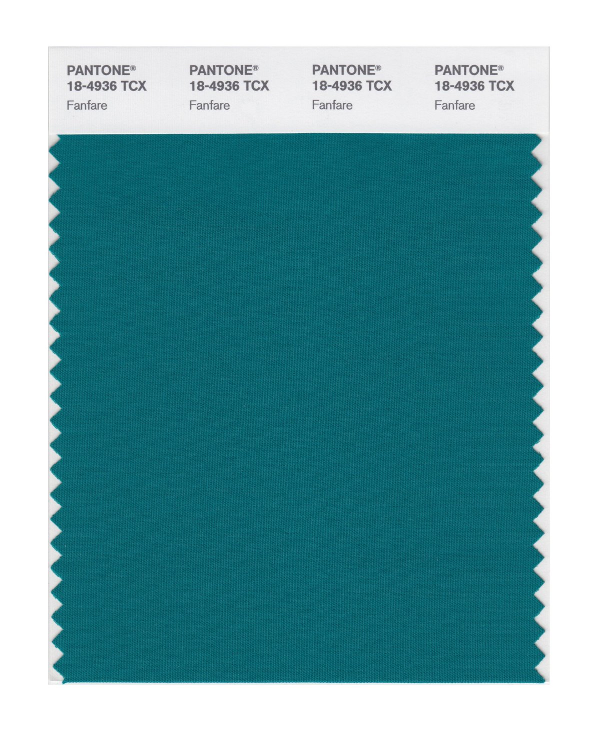 Pantone Smart Swatch 18-4936 Fanfare