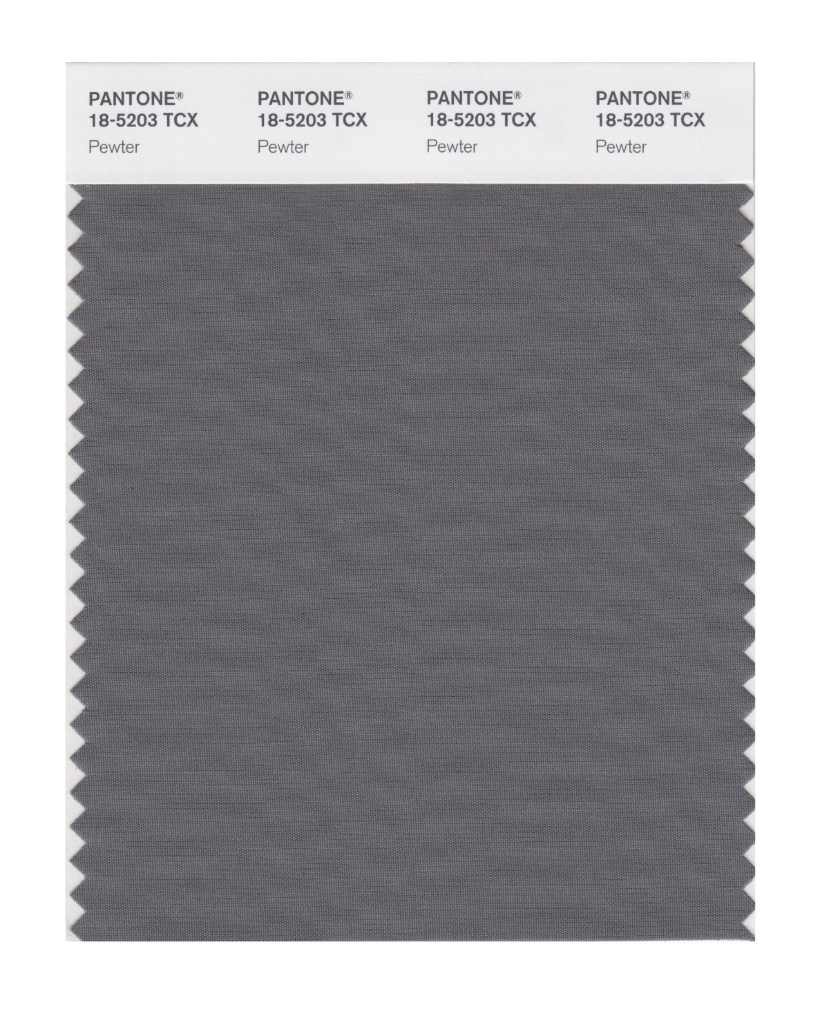 Pantone Smart Swatch 18-5203 Pewter