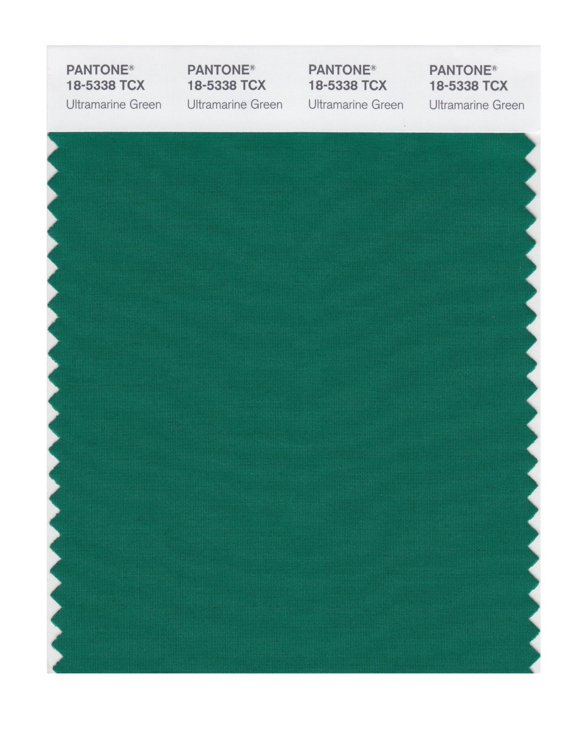 Pantone Smart Swatch 18-5338 Ultramrn Green