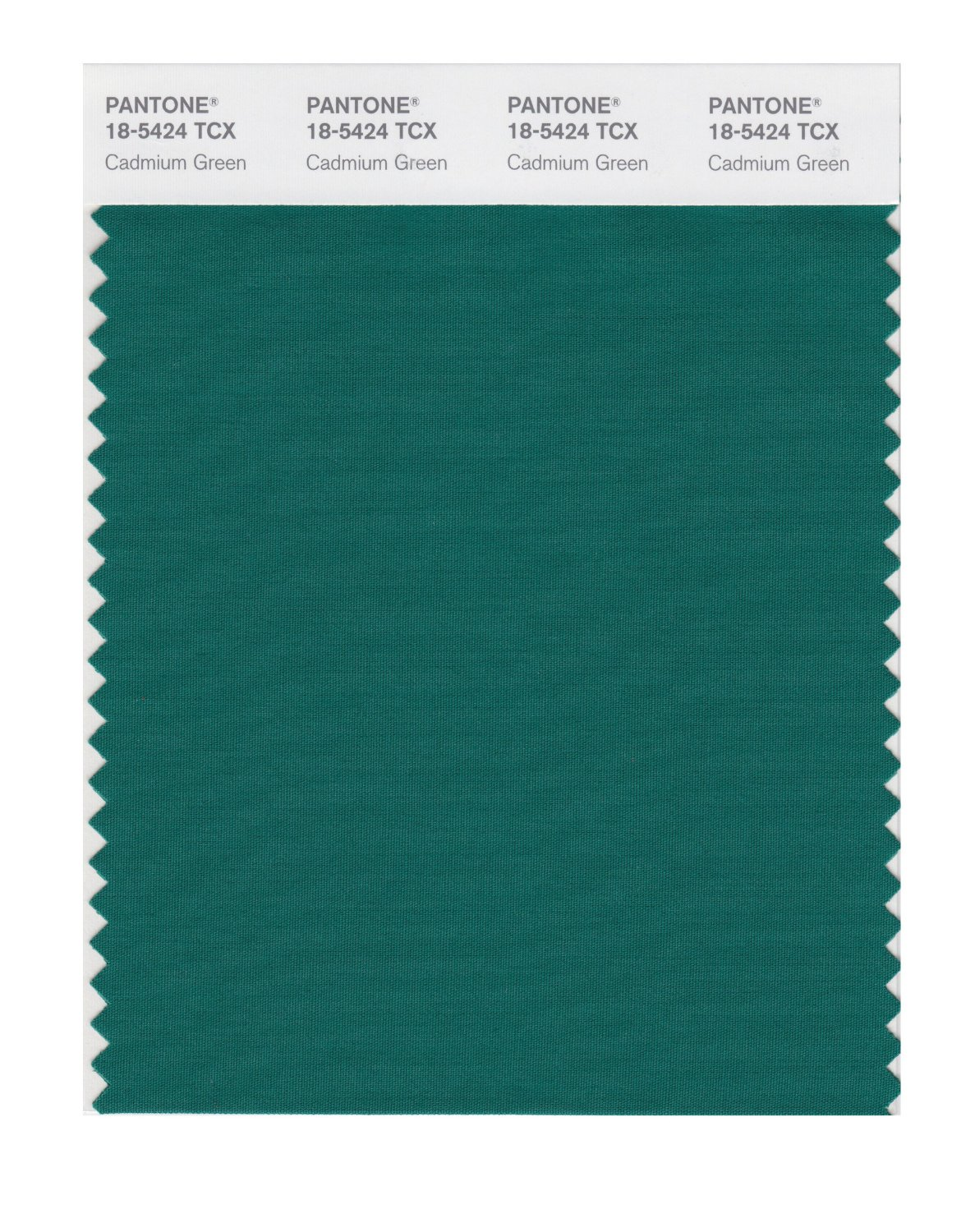 Pantone Smart Swatch 18-5424 Cadmium Green