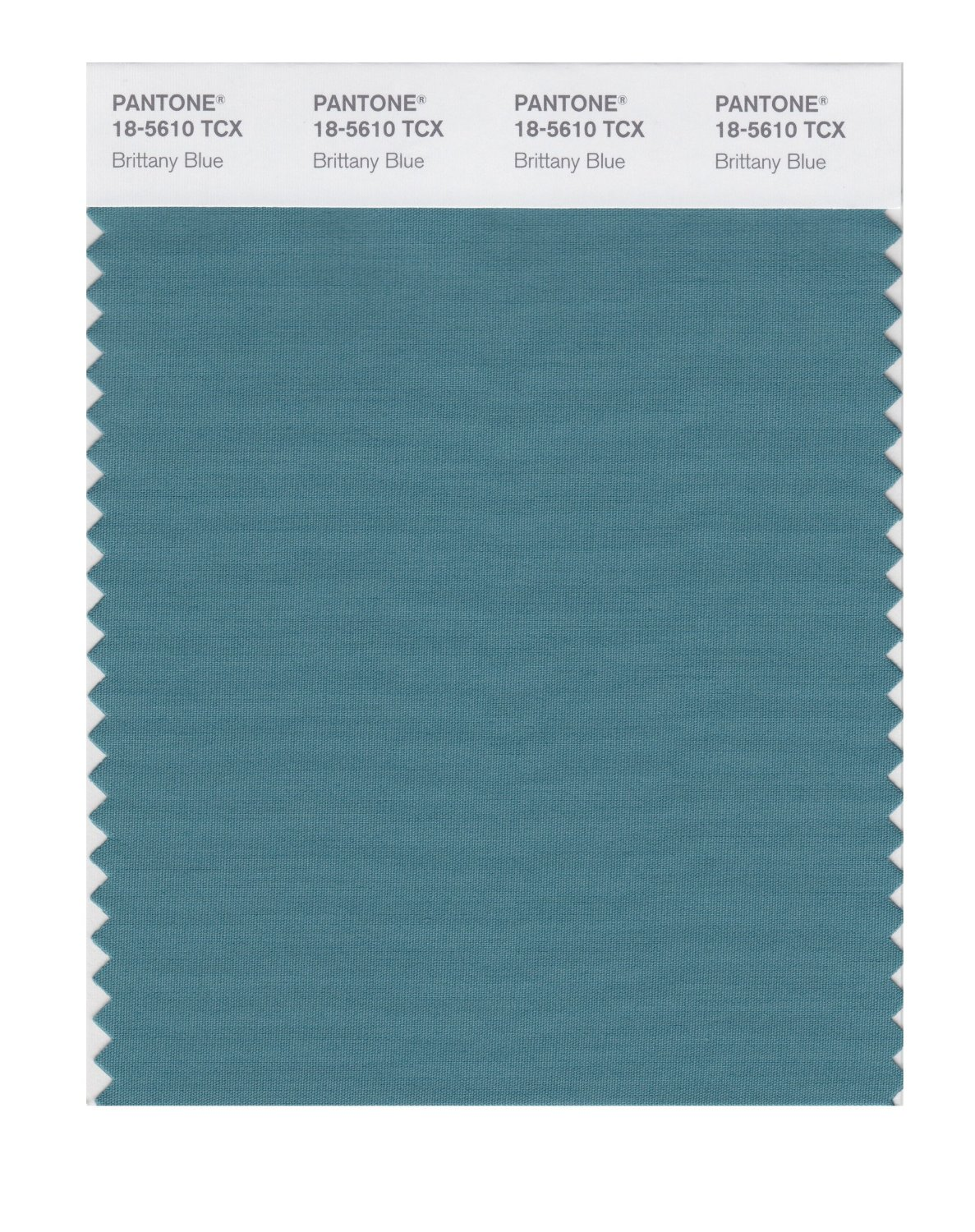 Pantone Smart Swatch 18-5610 Brittany Blue