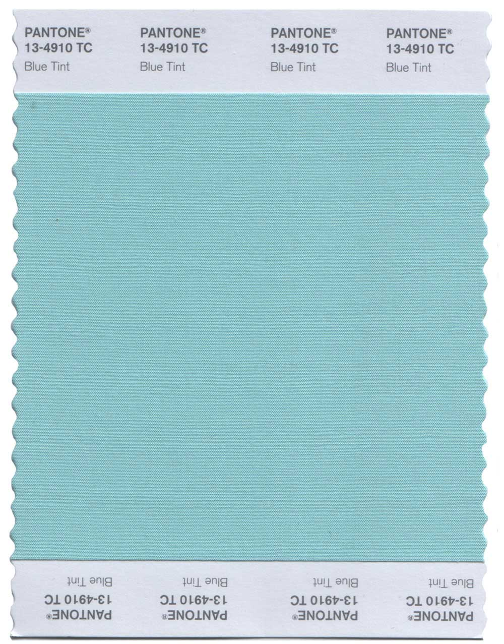 Pantone Original Swatch 15-0146 Green Flash
