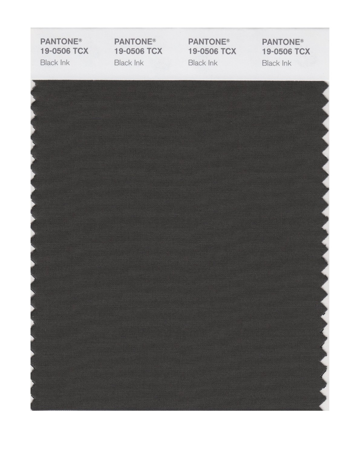Pantone Smart Swatch 19-0506 Black Ink