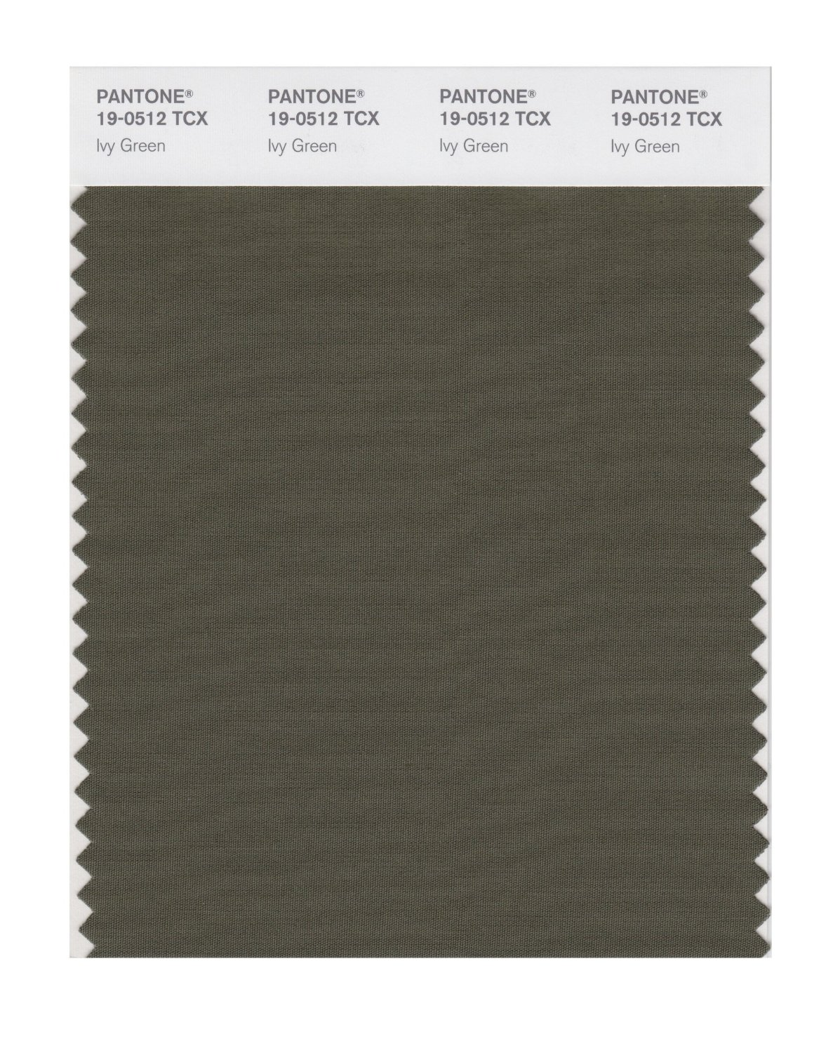 Pantone Smart Swatch 19-0512 Ivy Green