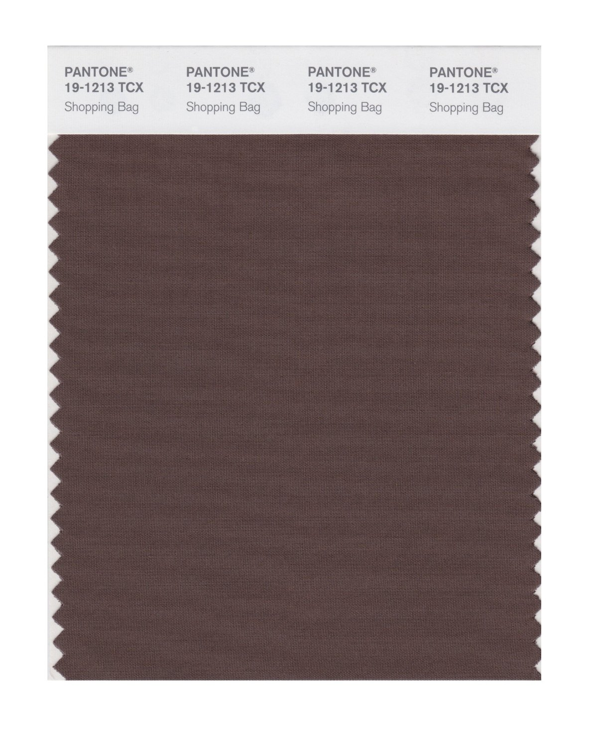 Pantone Smart Swatch 19-1213 Shopping Bag