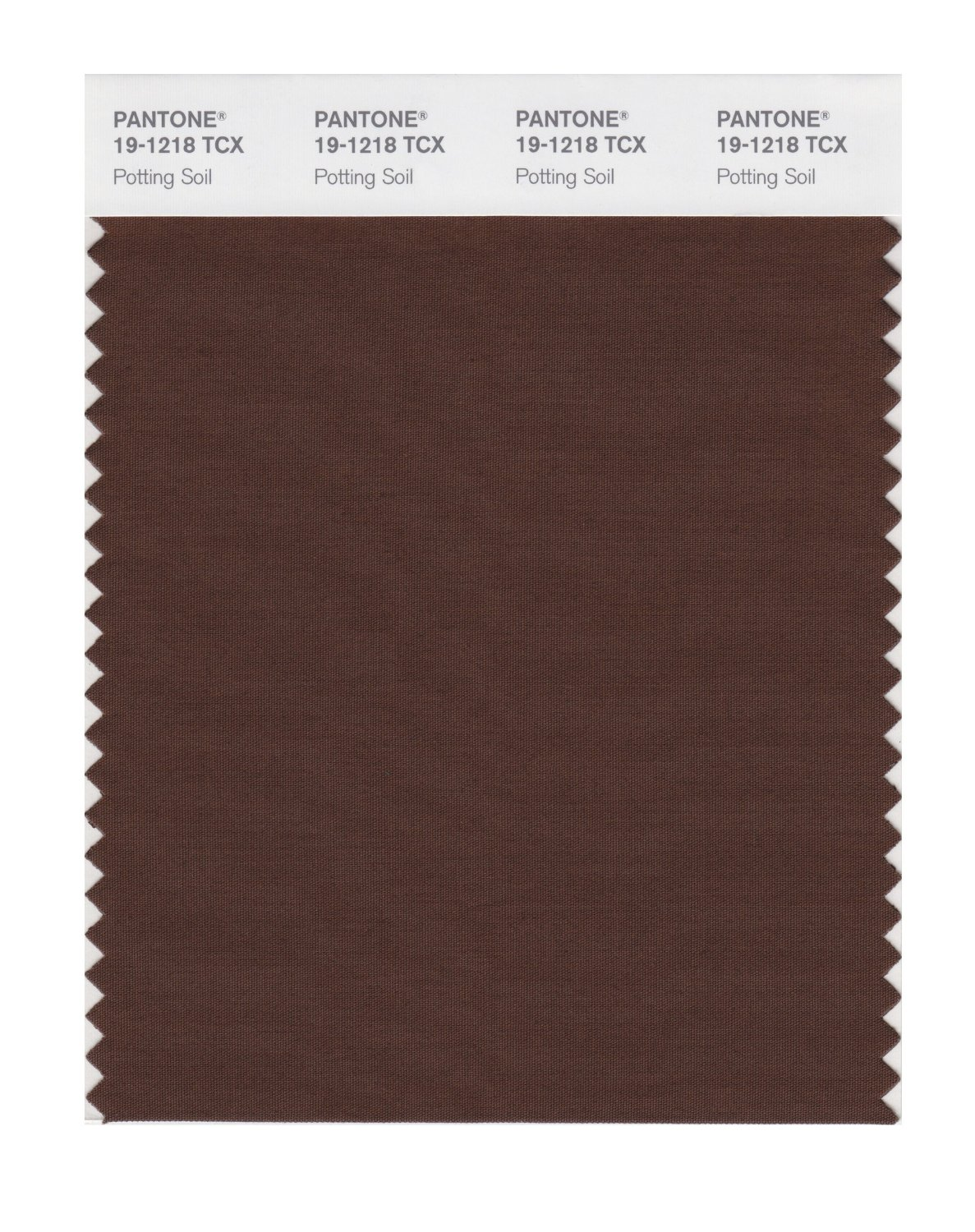Pantone Smart Swatch 19-1218 Potting Soil