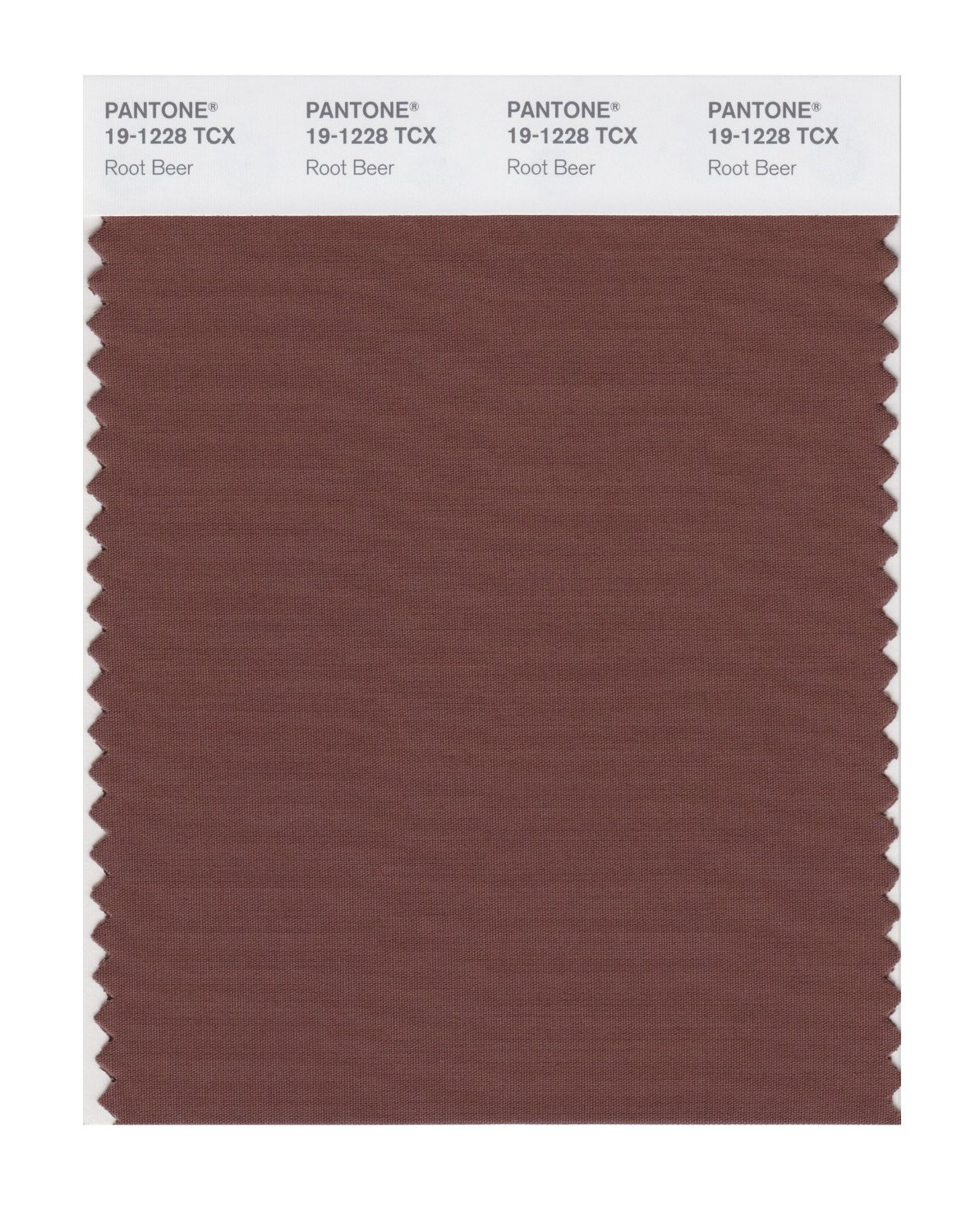 Pantone Smart Swatch 19-1228 Root Beer
