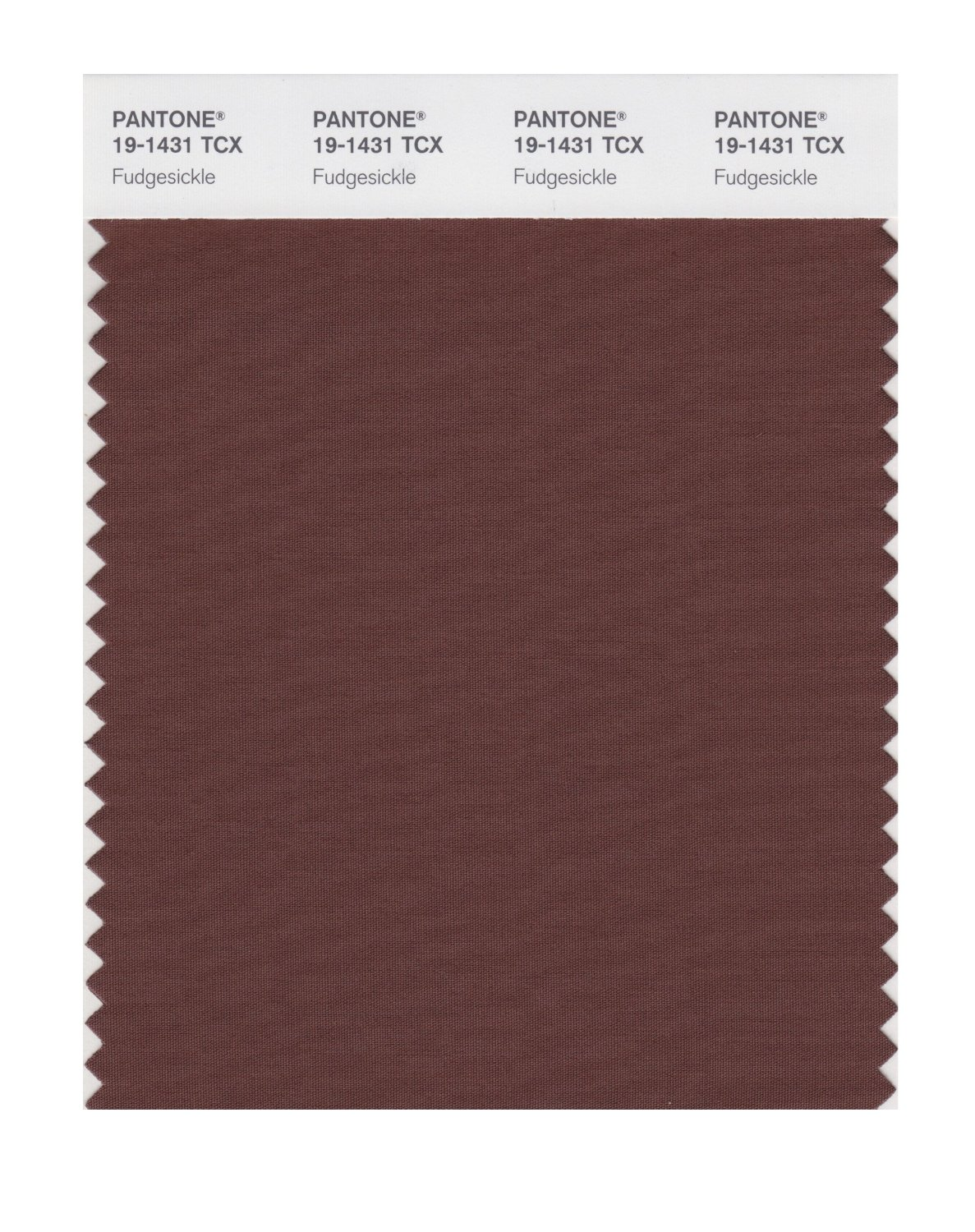 Pantone Smart Swatch 19-1431 Fudgesickle