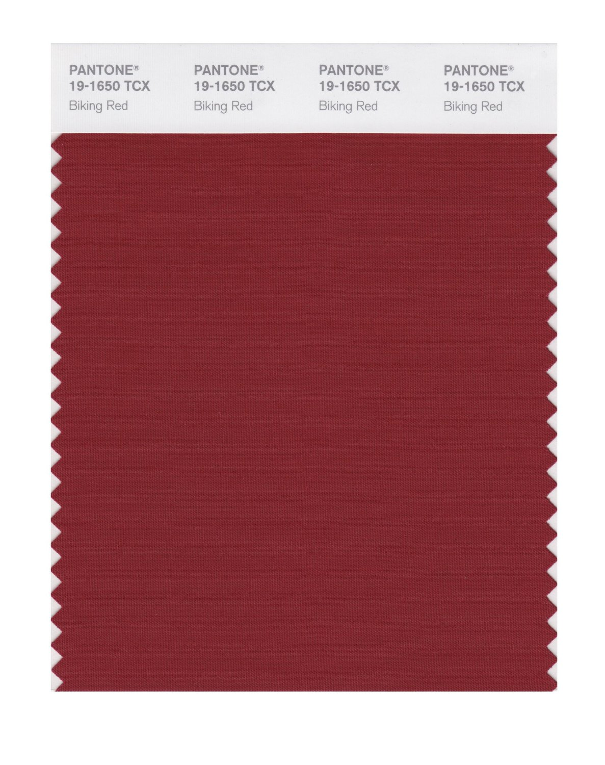 Pantone Smart Swatch 19-1650 Biking Red